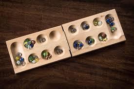 Mancala Wooden Board Game Mancala Board Game stock photo Image of mancala asian 100 68