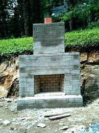 cost to build outdoor fireplace building an a how much does it outd