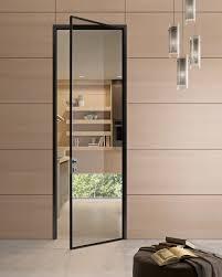 refined black residential steel framed glass door steel windows and doors