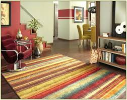 furniture multi colored rugs color area striped bath mat