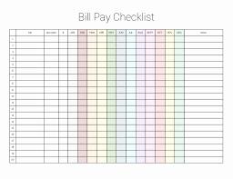 Bill Payment Organizer Template Budget Planner Worksheet Monthly Bills Template Free Bill Payment