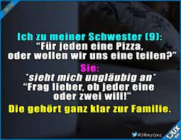 Die Gleichen Gene Familie Lustig Pizzaliebe Sprüche Humor
