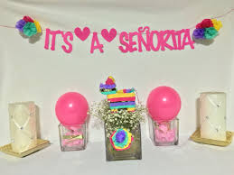 Baby Shower Banner Its A Seorita Beautiful Mexican Baby Shower Baby Shower Banner