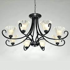 small wrought iron chandelier black candle boscocafe throughout chandeliers plans 11
