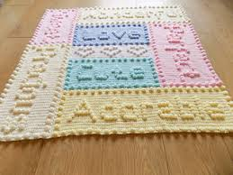 Crochet Baby Blanket Pattern Adorable Ravelry Precious Words Baby Blanket Pattern By Peach Unicorn