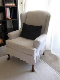 collection of solutions my wing chair slipcover reveal fabulous diy wingback chair