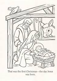 Small Picture LDS Nursery Color Pages Christmas Lesson Im a Mormon