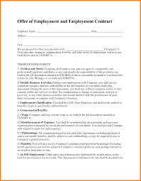Job Contract Template 24 Job Contract Image Edu Techation 4