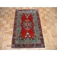 wool oriental rugs hand knotted red with rug from india next round
