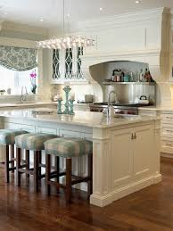 modern off white kitchen. Off White Kitchen Cabinets Modern Design Consist Of Painted L Shape Cabinet And Island With Granite Unique Square Suede Finished Stool A