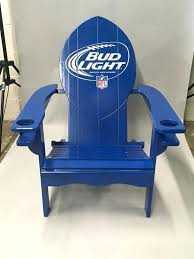bud light folding chair bud light chair deal oversized chair and ottoman slipcover