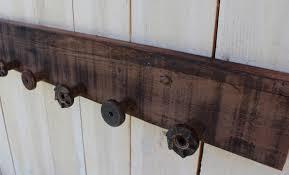 Reclaimed Wood Coat Rack Shelf Rustic shelf barn wood shelf barn wood rack reclaimed wood 41