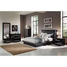 Bedroom Furniture - Dimora Black 7 Pc. Queen Bedroom (Alternate ...