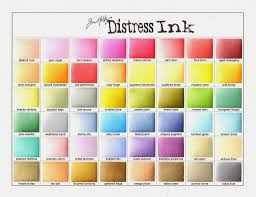 Distress Ink Color Chart 2017 Getting Organized Part 5 With Maureen Your Next Stamp