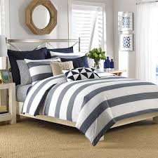 Nautica Lawndale Navy Cotton 3-Piece Comforter Set - Free Shipping Today -  Overstock.com - 16377899