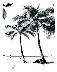 palm tree curtain palm tree curtain amazing curtains and black white with summer sea beach kitchen