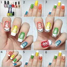 Diy-Nail-Art-Blue-picture – Easy Nail Art