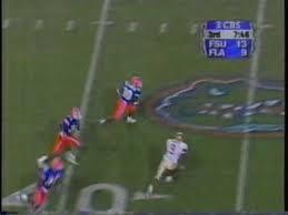 1999 FSU @ Florida - Bennie Alexander INT TD - YouTube