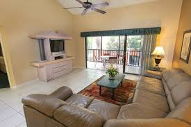 Two Bedroom Deluxe Villa Living Area | Westgate Vacation Villas Resort U0026  Spa | Orlando