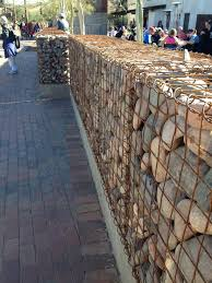 awesome retaining wall using strong iron gabion baskets filled with stones  ideas