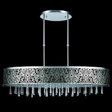 one other image of stainless steel chandelier