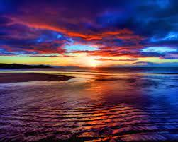 Sunset Beach Scotland Beautiful ...