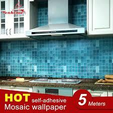 sticker tile wall sticker bathroom waterproof self adhesive wallpaper kitchen wall paper mosaic tile stickers wall sticker tile