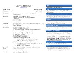 Nursing Resume Prossample And Medical Resumes Nurse Sample Pdf Sevte