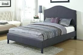 Gray Bed Frame Full Grey Tufted Queen Bed Grey Velvet Tufted Bed ...