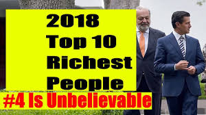 Top 10 Richest People in the World 2018 ...