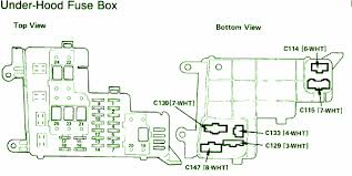 1991 honda accord l x fuse box diagram circuit wiring diagrams 1991 honda accord fuel pump fuse at 91 Accord Fuse Box
