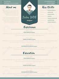 Cool New Modern Resume Cv Curriculum Vitae Template Design With