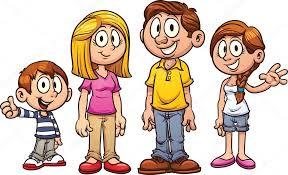 Výsledek obrázku pro kreslené obrázky rodiny