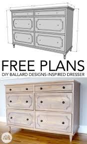 best  dresser plans ideas on pinterest  diy dresser plans diy