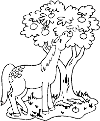 Horse Eating Coloring Pages Apple Coloring Pages Coloring Pages