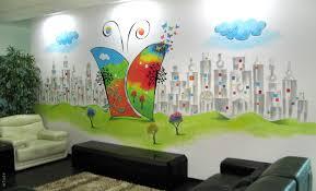 office graffiti wall. Office Interior Wall Art Graffiti