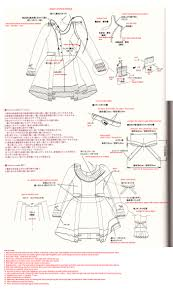 Doll Clothes Patterns Mesmerizing Translation Request A Doll's Dress Pattern Japanese Sewing