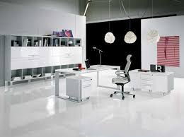 contemporary home office furniture sets. contemporary home office furniture sets with glossy white finish