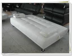 Small Picture Large Italian Faux Leather Sofa Bed With Chrome Legs Buy Maldon