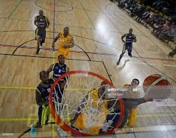 Alex Owumi of London in action during the British Basketball League... News  Photo - Getty Images
