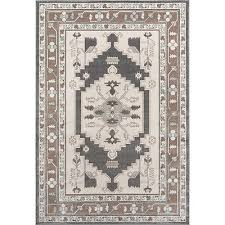 momeni dakota silvia beige indoor outdoor rug 7 10 x 9 10