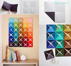 diy wall decor paper. Diy Wall Decor Ideas Pinterest How To Make Origami Paper Craft Decoration Step Best Concept