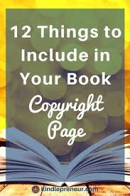 ironclad book copyright page exles that will protect you