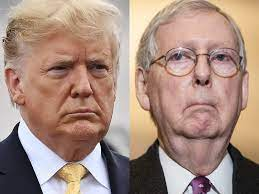 McConnell says Trump deriding him as an ...