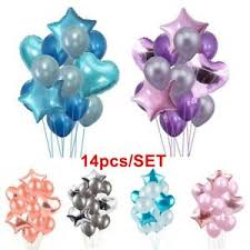 image is loading 14pcs latex filled helium balloon birthday party wedding