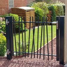 electro welded steel garden gate