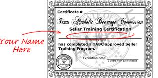 Free com Online Certification Tabc Katieroseintimates Certificate Big