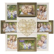 better homes gardens 17 99 x 1 97 x 20 08 string rustic 8 openings collage frame com