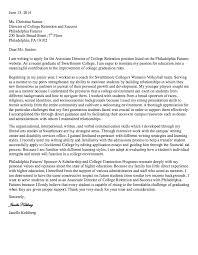 Director Cover Letter Associate Director Cover Letter Danetteforda