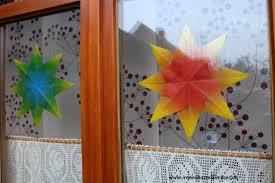 Weihnachtssterne Basteln Transparentpapier Stampin Up